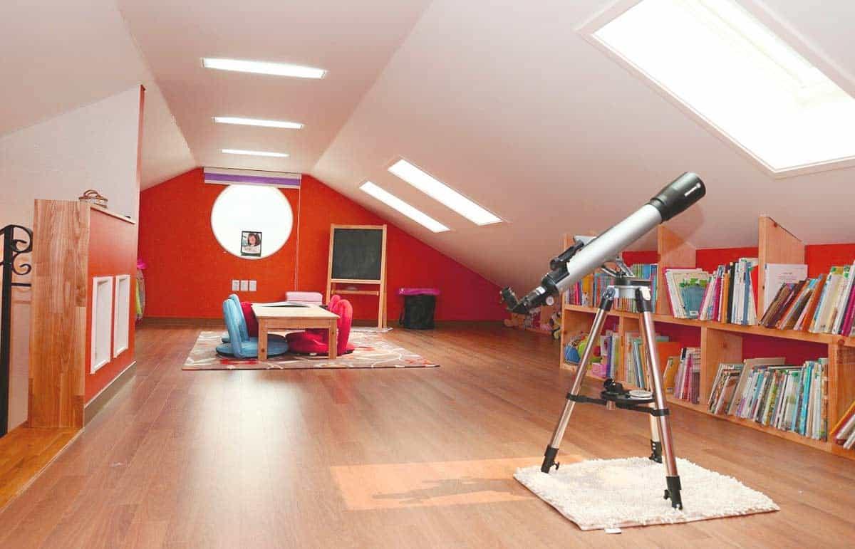 Dachgeschosszimmer